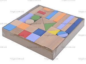 Деревянный конструктор «Мини Стройка», 34 детали, ДН0234-2, фото