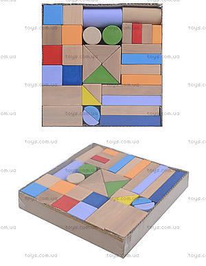 Деревянный конструктор «Мини Стройка», 34 детали, ДН0234-2