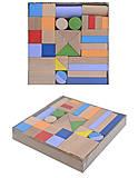 Деревянный конструктор «Мини Стройка», 34 детали, ДН0234-2, купить