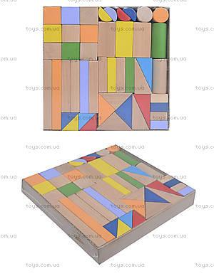 Конструктор деревянный «Супер Стройка», 45 деталей, ДН0245-2