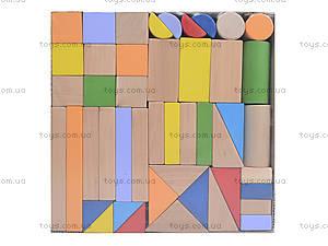 Конструктор деревянный «Супер Стройка», 45 деталей, ДН0245-2, фото
