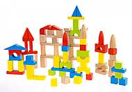 Конструктор деревянный goki базовый большой, 58576, детский