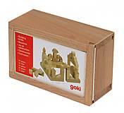Конструктор деревянный goki «Стандарт», 58939, фото