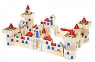 Конструктор деревянный goki «Замок маленький», 58984, отзывы