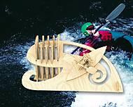 Конструктор деревянный «Гребец», С016, тойс ком юа