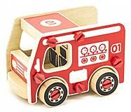 Конструктор деревянный «Пожарная машина», Д430, отзывы