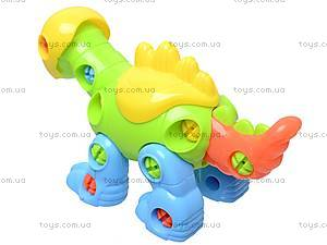 Конструктор детский «Динозавр», 1357B, цена
