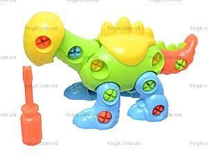 Конструктор детский «Динозавр», 1357B, игрушки