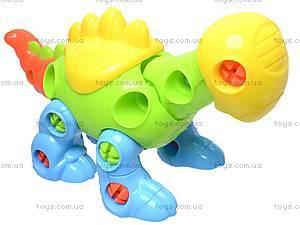 Конструктор детский «Динозавр», 1357B, детские игрушки
