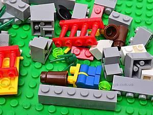 Конструктор детский «Домик», 9932, детские игрушки