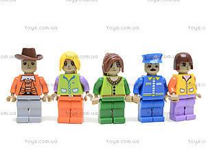 Конструктор детский «Город», 25409, toys