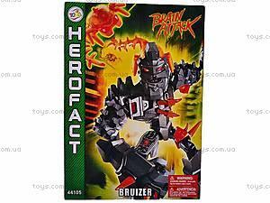 Конструктор детский Herofact - Bruizer, 44105, детские игрушки