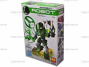 Конструктор детский Invincibility Robot, 9521-9526, купить