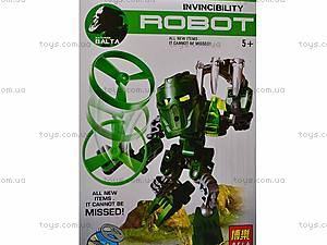 Конструктор детский Invincibility Robot, 9521-9526, фото