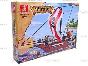Конструктор детский «Пираты», M38-B0279, цена