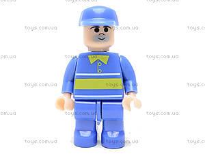 Конструктор детский «Троллейбус», M38-B0332R, детские игрушки
