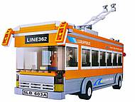 Конструктор детский «Троллейбус», M38-B0332R