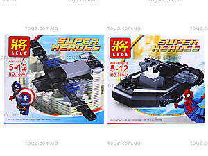 Конструктор детский Super Heroes, 78041, детские игрушки