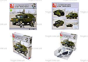 Конструктор детский игрушечный «Армия», M38-B9900