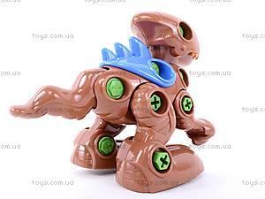 Конструктор «Динозаврики» с инструментом, 776, toys.com.ua