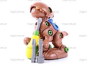 Конструктор «Динозаврики» с инструментом, 776, детский