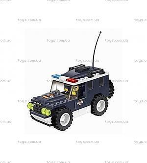 Конструктор для детей «Полицейский джип», 114 деталей, 040215, купить
