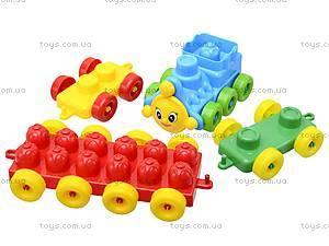 Конструктор для детей, 64 деталей, 02-302, цена