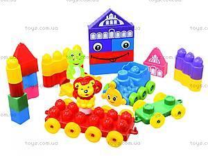 Конструктор для детей, 64 деталей, 02-302, детские игрушки