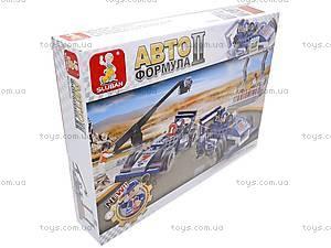 Конструктор для детей «Автоформула», 300 деталей, M38-B0355R