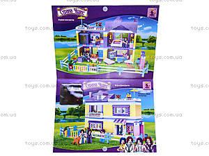 Конструктор для детей «Дом», 24705, игрушки
