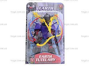 Конструктор для детей Earth Tutelary, 4 вида, 2013-033
