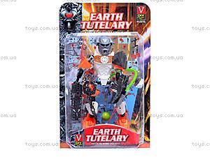 Конструктор для детей Earth Tutelary, 4 вида, 2013-033, игрушки