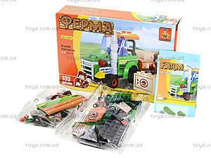 Конструктор для детей «Ферма», 103 детали, 28401, фото