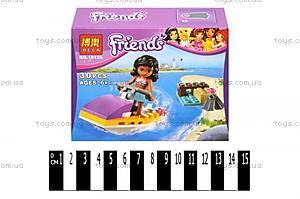 Конструктор для детей Friends «Водный мотоцикл», 10125