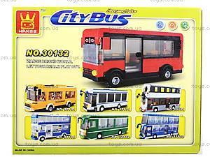 Конструктор для детей «Городской автобус», 30132, купить