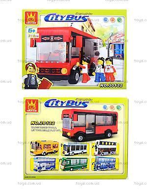 Конструктор для детей «Городской автобус», 30132