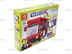 Конструктор для детей «Городской автобус», 30132, фото