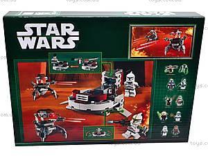 Конструктор для детей из серии Star Wars, 9499, игрушки