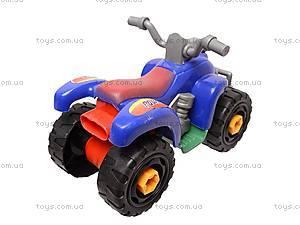 Конструктор для детей «Мотоцикл», 886, фото