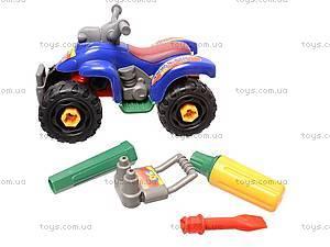 Конструктор для детей «Мотоцикл», 886