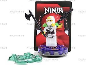 Конструктор для детей «Отважный ниндзя», LB0728F, игрушки