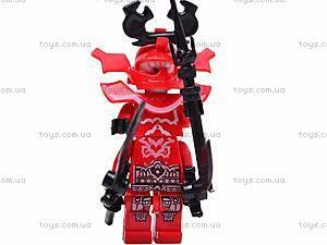 Конструктор для детей «Отважный ниндзя», LB0728F, фото
