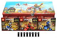 Конструктор для детей Ninja «Боевое задание», SX3004, отзывы