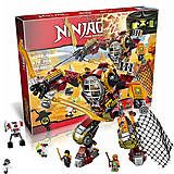 Конструктор для детей Ninja «Робот Ронина», 10525, фото