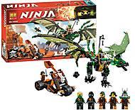 Конструктор для детей «Ниндзя», 603 деталей, 10526, купить