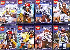 Конструктор для детей Pirates, 515