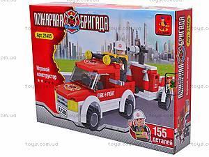 Конструктор для детей «Пожарная машина», 21405