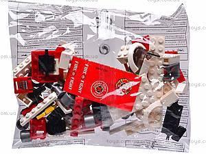 Конструктор для детей «Пожарная машина», 21405, фото
