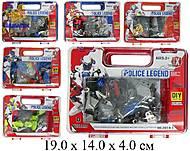 Конструктор для детей «Police Legend», 2014-1