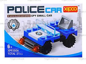 Конструктор для детей «Полицейская машина», XP93506, купить